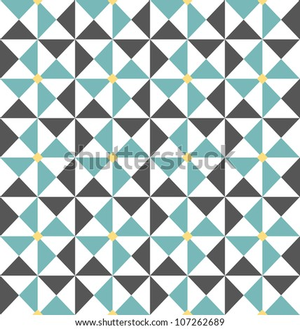Abstract seamless pattern, background vector illustration - stock vector