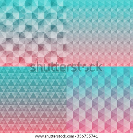Abstract seamless pattern backgrounds eps 10 vector stock illustration - stock vector