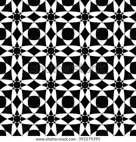 abstract seamless pattern ,black and white Vector seamless pattern. Seamless background pattern. Modern stylish texture. Repeating geometric. - stock vector
