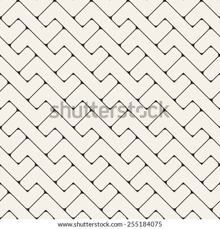 Abstract seamless pattern. Geometric simple background. Vector illustration with rectangular elements - stock vector