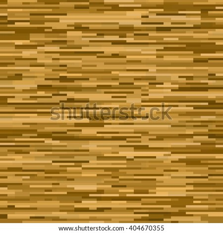 Abstract seamless pattern. Imitation wooden parquet. Horizontal brown stripes. Editable background for wallpaper, mock ups, backdrop. Vector illustration. EPS10. - stock vector