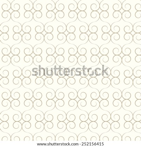 abstract seamless pattern lines curve vector background
