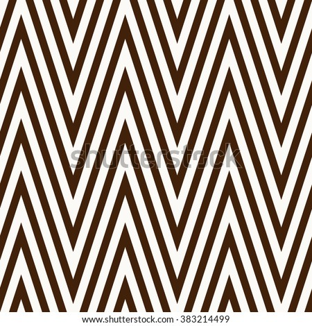 Abstract seamless pattern made from zig zag lines - stock vector