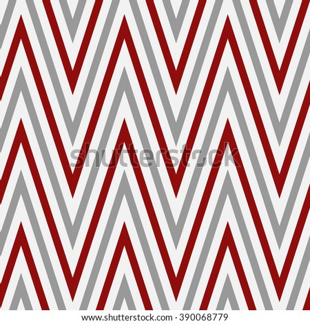 Abstract seamless pattern made from zig zag lines
