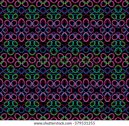 Abstract seamless pattern. This pattern can be used for wallpaper, pattern fills, web page background, surface textures. Vector illustration - stock vector