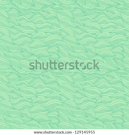 Abstract seamless pattern with stylized elements