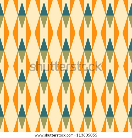 abstract seamless patterns. vector illustration. - stock vector