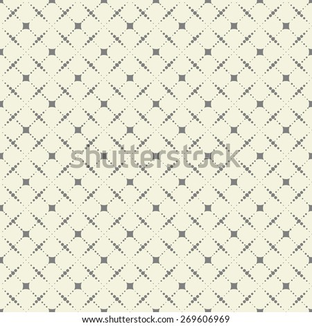 abstract seamless spotty check - stock vector