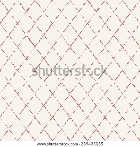 abstract seamless spotty geometric pattern - stock vector