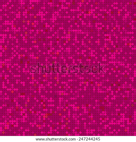 abstract seamless texture of circles - stock vector
