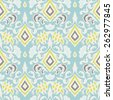 Abstract seamless vintage luxury ornamental vector pattern for fabric - stock photo