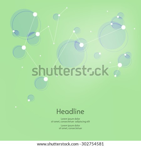 Abstract shapes vector background. Isolated. Vector illustration.