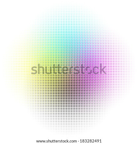 Abstract shining neon background. Vector illustration. - stock vector
