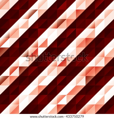 Abstract Shiny Background. Modern Red Illustration. - stock vector
