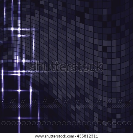 Abstract Shiny Background. Sparkly Illustration. - stock vector