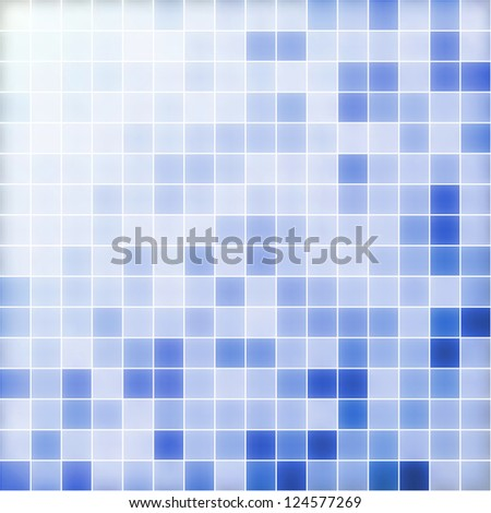 Abstract shiny blue white template background with copy space. Vector file