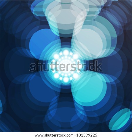 abstract shiny cool background - stock vector