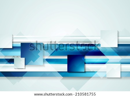 Abstract shiny hi-tech vector background - stock vector