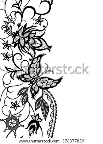 Flowers Design Stock Vector 245754358