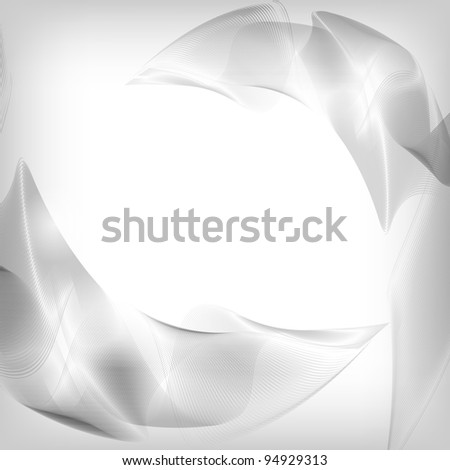 Abstract Silver Background - Vector Illustration eps 10 - stock vector