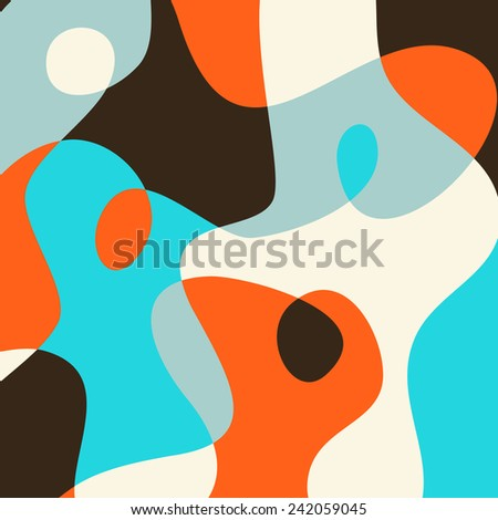 Abstract simple colorful background for your design - stock vector