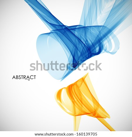 abstract Smoke - stock vector