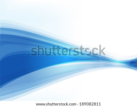 Abstract Smoke Background Vector business Smoke Blue - stock vector