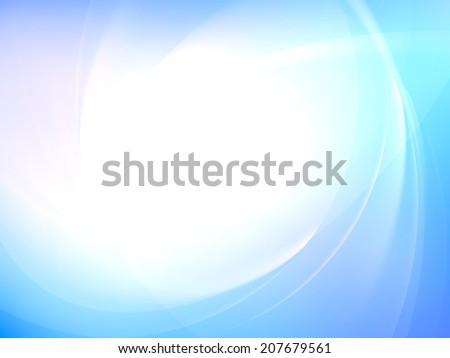 Abstract smooth light curves vector background. EPS 10 vector file included - stock vector