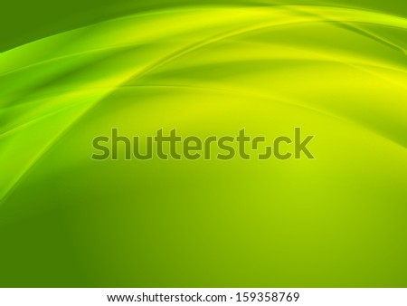 Abstract smooth waves vector background - stock vector