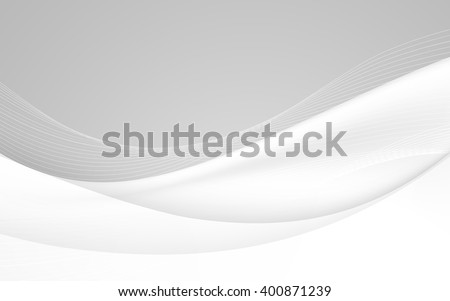 Abstract soft background with wave. Vector illustration. Clip-art