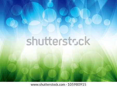 Abstract soft vector background - stock vector