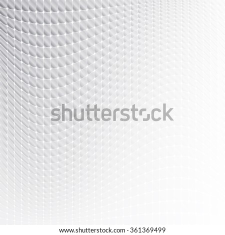 Abstract soft wavy square shapes background. Ideal for brochure & flyer cover design with a copyspace area - stock vector