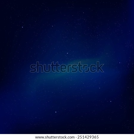 Abstract space background with frame