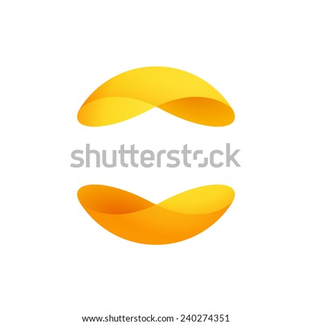 Abstract sphere logo  - stock vector