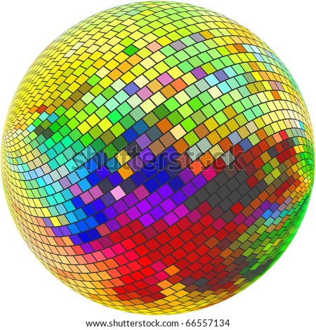 Abstract sphere. Vector illustration. - stock vector