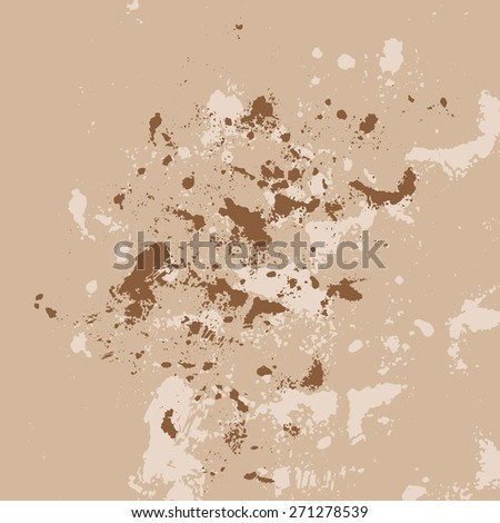 Abstract splatters effect texture. Design for your brushes and grunge effects.