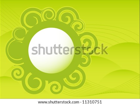 Abstract spring glossy pattern background - stock vector