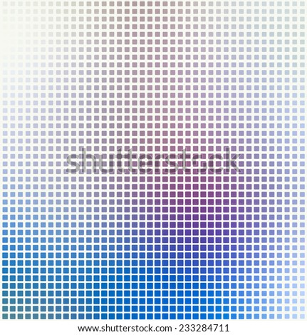 abstract square pixel mosaic background. Vector illustration - stock vector