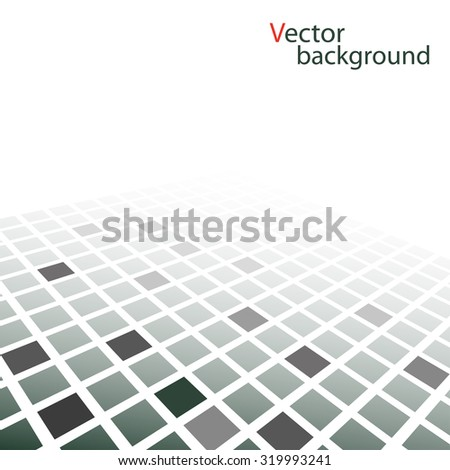 Abstract squares vector background - stock vector