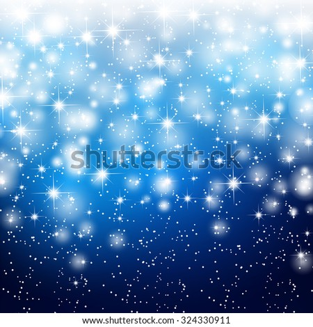 Abstract starry background - stock vector