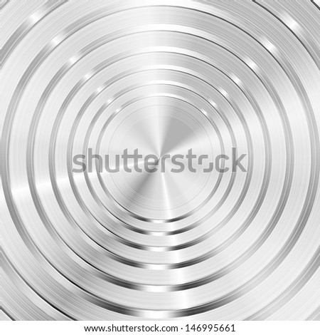 Abstract steel background  - stock vector