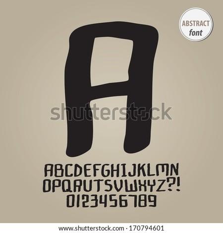 """LimitedFont's """"Black & Doodle"""" set on Shutterstock"""
