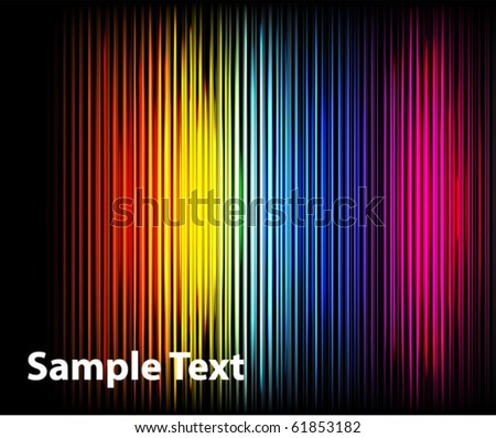Abstract striped colorful wallpaper