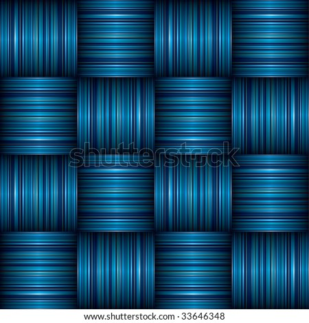 abstract Striped weave background effect with shadow effect - stock vector