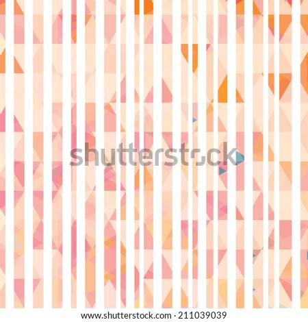 Abstract stripped colorful background. Vector Design