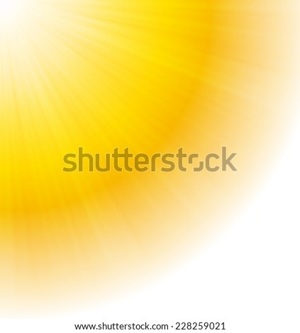 Abstract summer background, beauty in nature. - stock vector