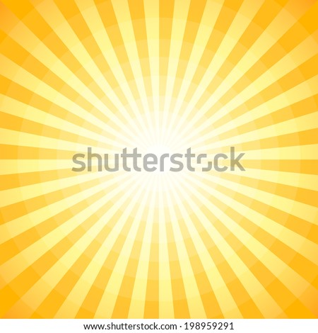 Abstract summer background (NO TRANSPARENCY) - stock vector