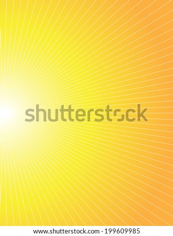 Abstract sun background.  - stock vector