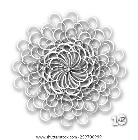 Abstract Swirl Design, eps10 vector  - stock vector