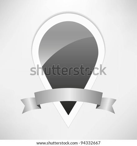 Abstract  tag - stock vector